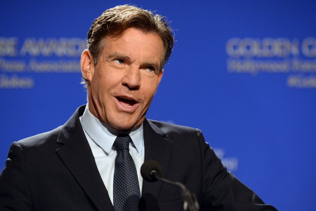 Actor Dennis Quaid announces nominations for the 73rd annual Golden Globe Awards on December 10, 2015. Quad has signed on to portray George W. Bush in Katrina: American Crime Story. File Photo by Jim Ruymen/UPI