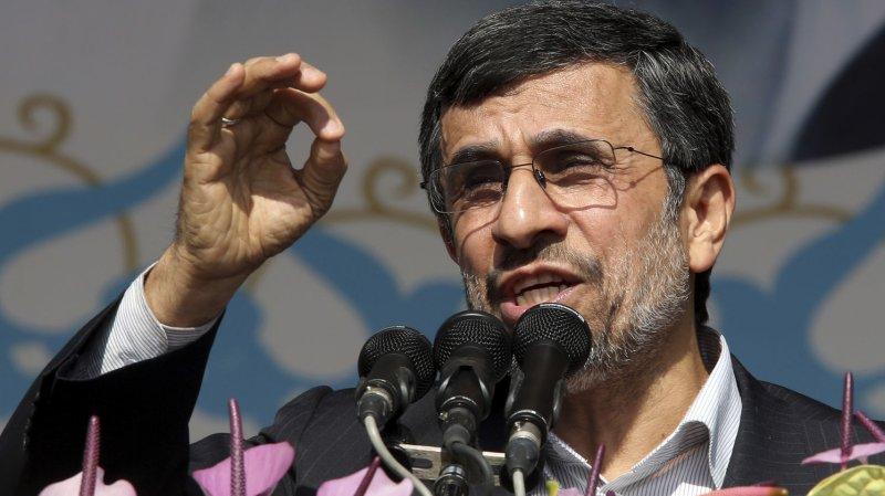Outgoing Iranian President Mahmoud Ahmadinejad UPI/Maryam Rahmanian