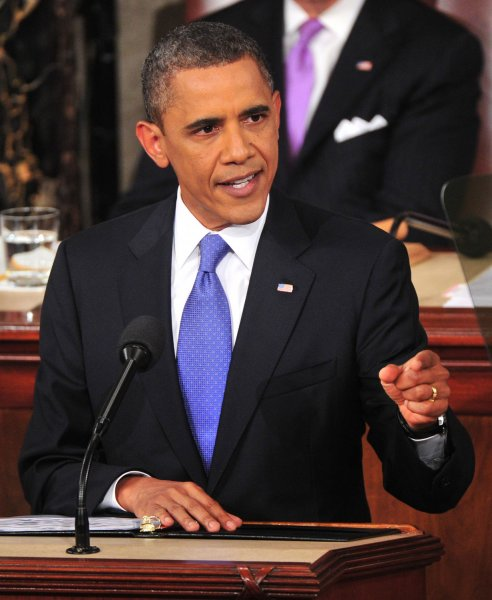 U.S. President Barack Obama outlines his job creation plan before a Joint Session of Congress in the U.S. Capitol Building in Washington, Sept. 8, 2011. UPI/Kevin Dietsch