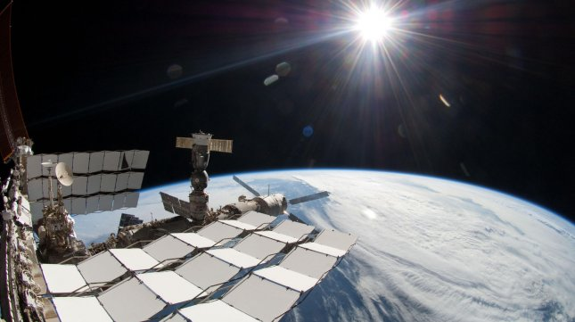 Earth seen from the International Space Station. UPI/NASA