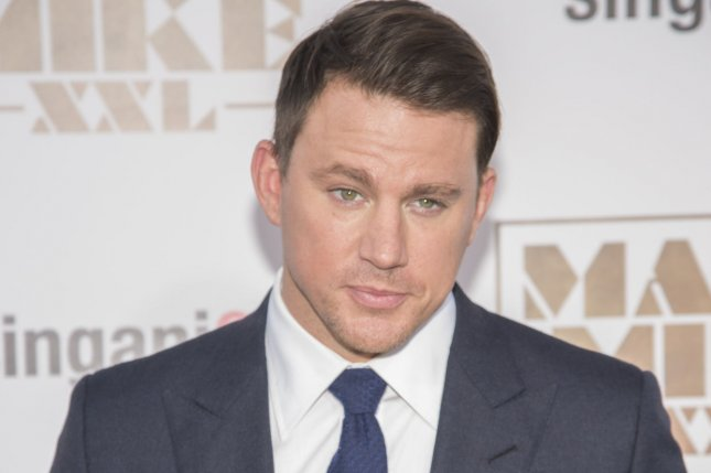 Channing Tatum will star as scheduled in Gambit. Photo by Phil McCarten/UPI