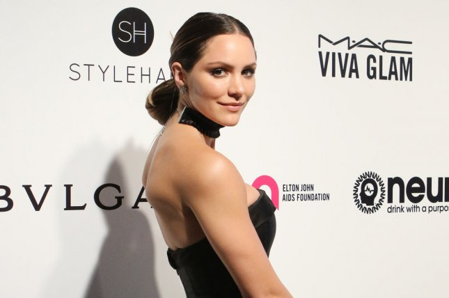Katharine McPhee attends the Elton John AIDS Foundation Academy Awards viewing party on February 26. File Photo by Howard Shen/UPI