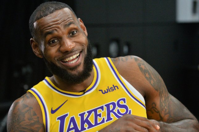 Space Jam 2 star LeBron James. Malcolm D. Lee is replacing director Terence Nance on the film. File Photo by Jim Ruymen/UPI