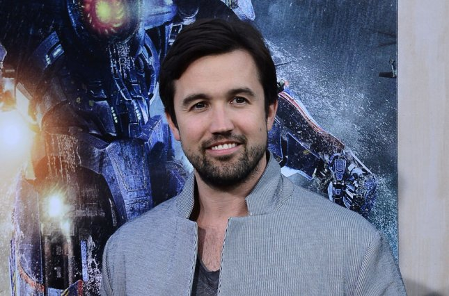 Rob McElhenney, pictured here, and Ryan Reynolds will be the subjects of a new docuseries coming to FX titled Welcome to Wrexham. File Photo by Jim Ruymen/UPI