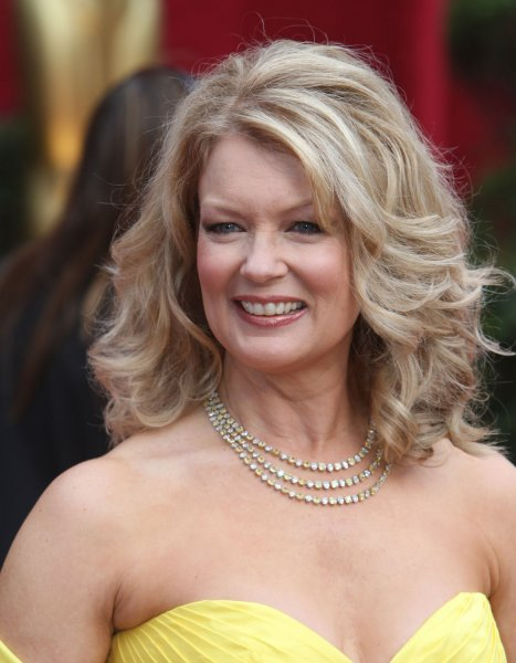 Mary Hart, host of Entertainment Tonight, arrives for the 80th Annual Academy Awards at the Kodak Theatre in Hollywood, California on February 24, 2008. (UPI Photo/Terry Schmitt)