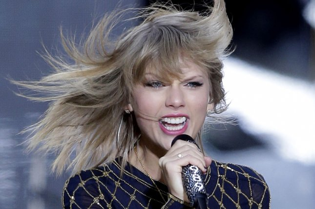 Taylor Swift performs on the Good Morning America Show in Times Square in New York City on October 30, 2014. Swift's 1989 album continues to rack up monster sales, as industry forecasters now say the album could sell 1.2 million copies in its first week. UPI/John Angelillo