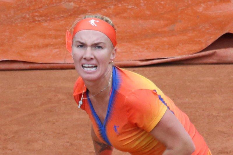Svetlana Kuznetsova of Russia. UPI/David Silpa