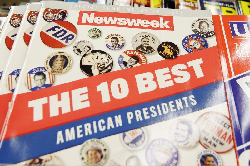 On February 17, 1933, Newsweek magazine published its first issue. File Photo by John Angelillo/UPI
