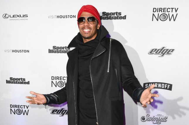 Nick Cannon attends the Sports Illustrated Swimsuit 2017 launch event in New York on Thursday. The entertainer announced the birth of his third child Wednesday. Photo by Andrea Hanks/UPI