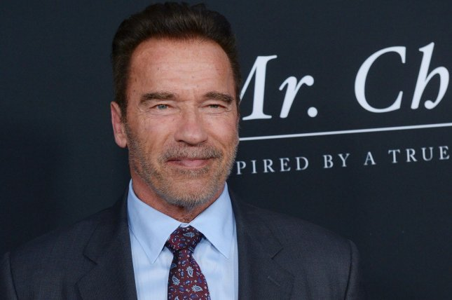 Actor and former California governor Arnold Schwarzenegger attends the premiere of the motion picture drama Mr. Church in Los Angeles on September 6, 2016. Schwarzenegger says he will not return for another season of The Celebrity Apprentice. File Photo by Jim Ruymen/UPI