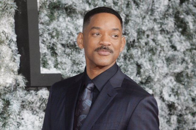Will Smith attends the premiere of Collateral Beauty on December 15, 2016. Smith has reunited with the cast of Fresh Prince of Bel-Air including Alfonso Ribeiro, Tatyana Ali, Karyn Parsons, Daphne Maxwell Reid and Joseph Marcell. File Photo by Rune Hellestad/ UPI
