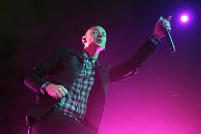 Chester Bennington performs with Stone Temple Pilots at the BB&T Center in Sunrise, Fla., on September 17, 2013. Bennington died Thursday at a residence in California. File Photo by Michael Bush/UPI