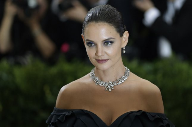 Katie Holmes attends the Costume Institute Benefit at the Metropolitan Museum of Art on May 1. The actress discussed daughter Suri Cruise on Wednesday's episode of Today. File Photo by John Angelillo/UPI
