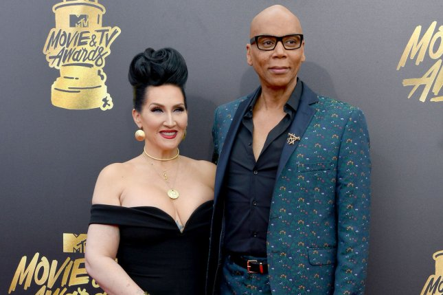 Michelle Visage (L) and RuPaul (R) attend the MTV Movie & TV Awards on May 7. VH1 has picked up Season 3 of RuPaul's Drag Race All Stars. File Photo by Christine Chew/UPI