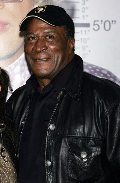 John Amos arrives for the premiere of Madea Goes to Jail at the AMC Loews Lincoln Square Theater in New York on February 18, 2009. (UPI Photo/Laura Cavanaugh)