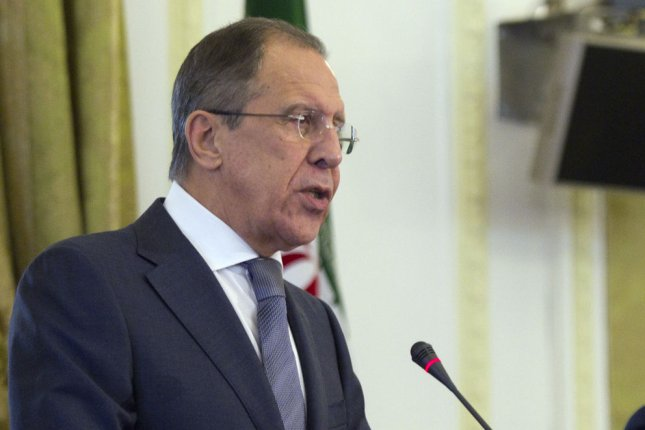 Russian Foreign Minister Sergey Lavrov, pictured in December 2013, has denounced international attempts to isolate Russia. (UPI/Maryam Rahmanian)