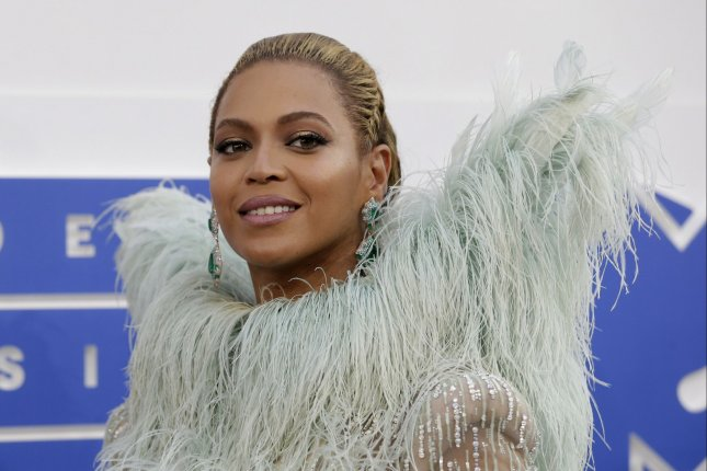 Beyonce arrives on the red carpet at the 2016 MTV Video Music Awards at Madison Square Garden in New York City on August 28, 2016. File Photo by John Angelillo/UPI