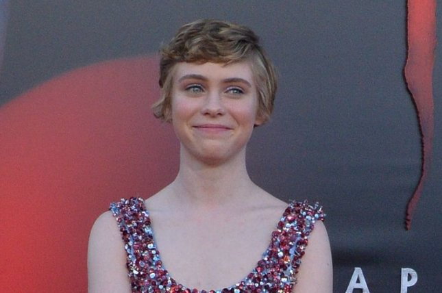 Sophia Lillis feels like audiences have watched her grow up. File Photo by Jim Ruymen/UPI