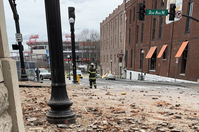 According to a Metro Nashville Police Department report, officials investigated a report that Anthony Quinn Warner was making explosives more than a year before he detonated a suicide bomb in the city's downtown area last Friday. Photo courtesy Nashville Fire Department