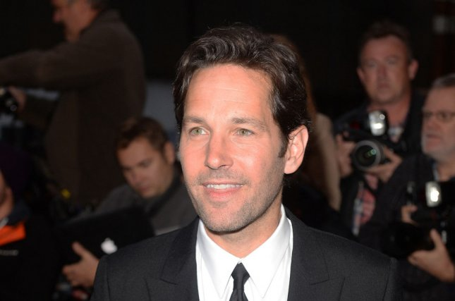 American actor Paul Rudd attends the GQ Men Of The Year Awards at The Royal Opera House in London on Sept. 8, 2015. Photo by Paul Treadway/UPI.