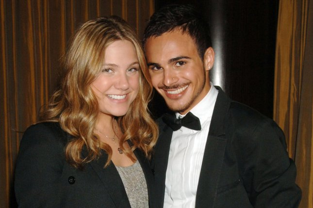Actors Lauren Collins and Adamo Ruggiero of the television series Degrassi: The Next Generation arrive for the Trevor Project gala held at the Mandarin Oriental Hotel in New York on June 30, 2008. Celebrating its 500th episode, Degrassi, now on Netflix, will air a reunion episode July 22. File Photo by Ezio Petersen/UPI