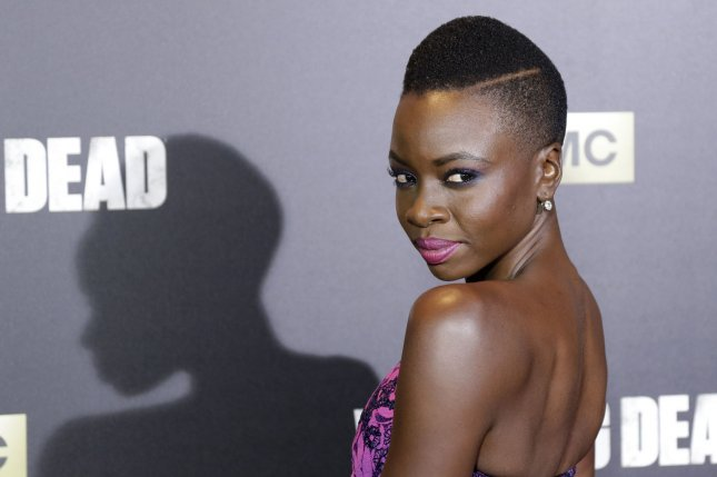 Actress Danai Gurira reportedly is leaving The Walking Dead next season. File Photo by John Angelillo/UPI