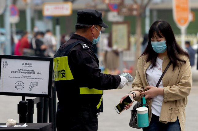 China's capital is slowly returning to normal amid a sharp fall in the number of new coronavirus cases and the return of spring weather. Photo by Stephen Shaver/UPI