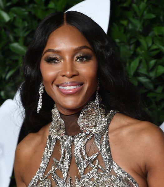Naomi Campbell attends the Fashion Awards at Royal Albert Hall in London on December 2. The model turns 50 on May 22. File Photo by Rune Hellestad/UPI