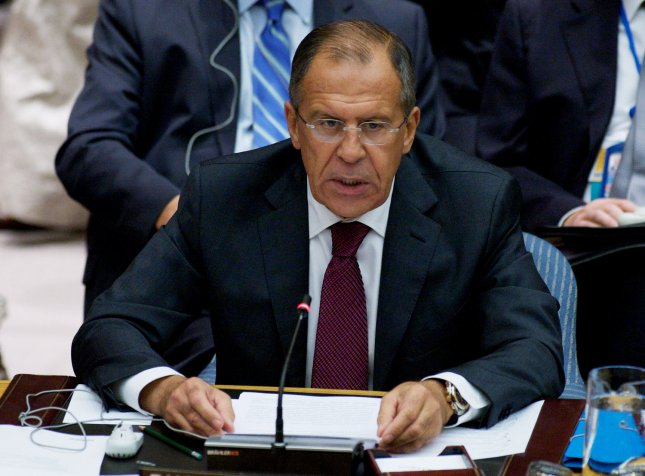 Russia hopes to improve relations with the United States, but won't hesitate to retaliate if necessary, Foreign Minister Sergei Lavrov said Wednesday. Sept. 26 file photo. UPI/Monika Graff
