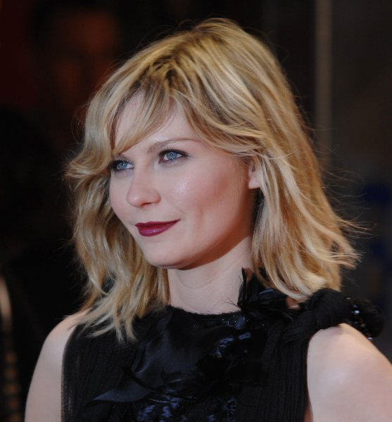American actress Kirsten Dunst attends the premiere of Spider-Man 3 at Odeon, Leicester Square in London on April 23, 2007. (UPI Photo/Rune Hellestad)