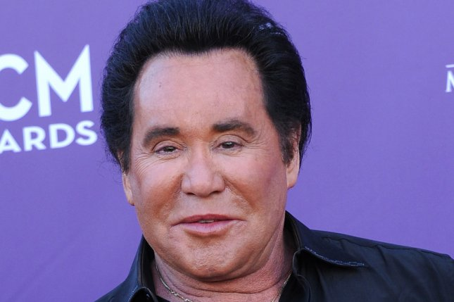 Singer Wayne Newton arrives at the 47th annual Academy of Country Music Awards at the MGM Hotel. Newton's 65-foot yacht sunk mysteriously in a marina on Lake Mead. UPI/Jim Ruymen