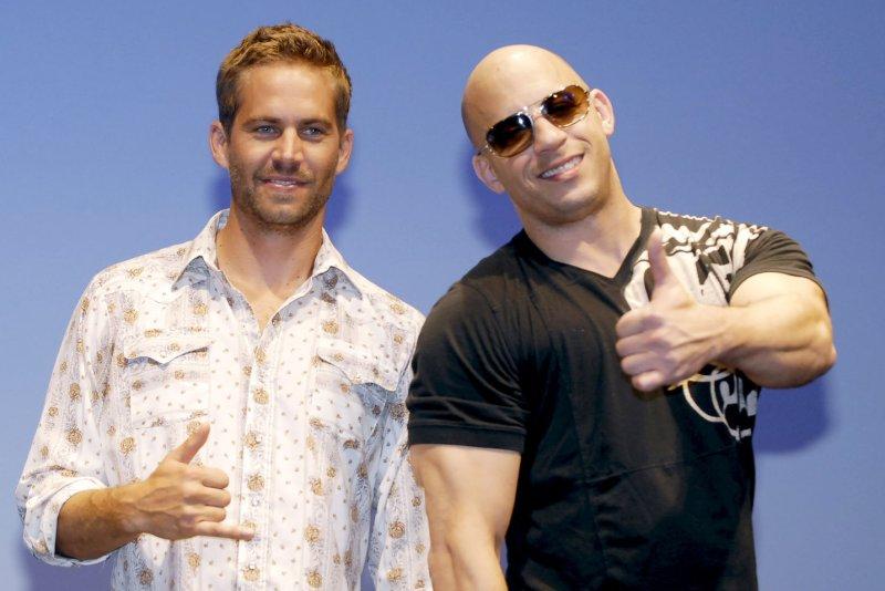 Actors Paul Walker (L) and Vin Diesel (R). UPI/Keizo Mori