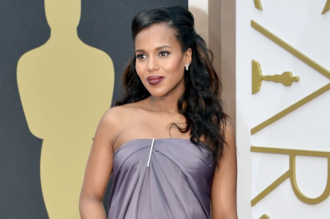 Kerry Washington arrives on the red carpet at the 86th Academy Awards at Hollywood & Highland Center in the Hollywood section of Los Angeles on March 2, 2014. UPI/Kevin Dietsch
