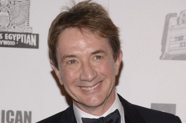 Actor Martin Short attends the the 2012 presentation of the American Cinematheque Award held at the Beverly Hilton Hotel in Beverly Hills, California on November 15, 2012. UPI/Phil McCarten
