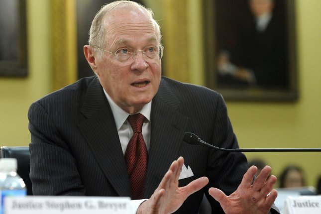 Supreme Court Justice Anthony Kennedy testifies before the House Appropriations Financial Services and General Government Subcommittee hearing on the budget for the U.S. Supreme Court on Capitol Hill in Washington on April 14, 2011. UPI/Roger L. Wollenberg
