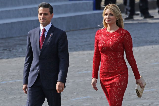 Mexican President Enrique Peña Nieto on Monday apologized for a $7 million luxury home buying scandal, stating accusations of corruption damaged the Mexican people's faith in the presidency. He and his wife Angelica Rivera were previously cleared of wrongdoing. File Photo by David Silpa/UPI