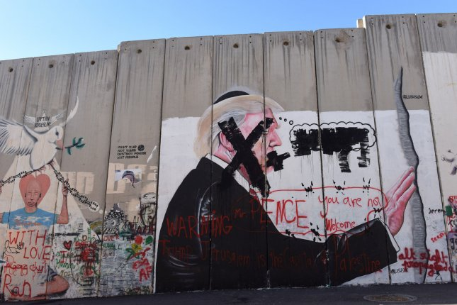 Palestine recalled Husam Zomlot, the Palestinian Liberation Organization envoy to Washington D.C., to hold consultations regarding U.S. President Donald Trump's decision to recognize Jerusalem as the capital of Israel. Photo by Debbie Hill/UPI