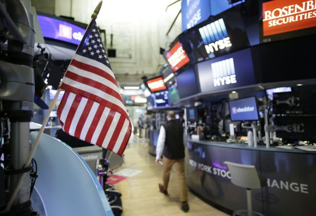 A Gallup survey determined investors in the United States remain positive about their personal finances and the state of the national economy, despite a period of market volatility in the first quarter of the year. Photo by John Angelillo/UPI
