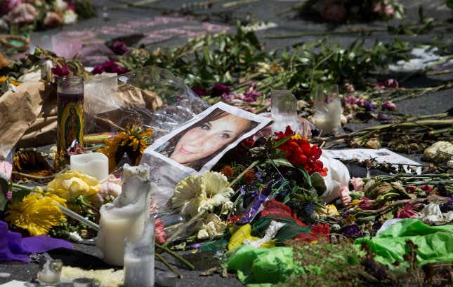 James Alex Fields, Jr., 21, pleaded guilty to 29 federal hate crimes for driving his car into a crowd, killing Heather Heyer and injuring dozens of other people. File Photo by Erin Schaff/UPI