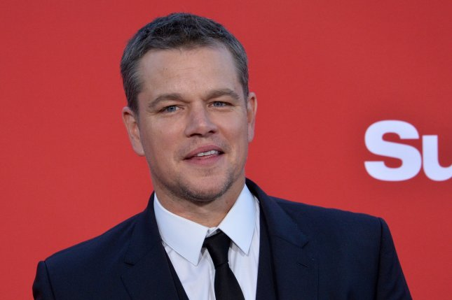 Matt Damon attends the premiere of Suburbicon at the Regency Village Theatre in the Westwood section of Los Angeles on October 22, 2017. The actor turns 50 on October 8. File Photo by Jim Ruymen/UPI