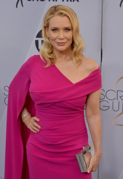 Laurie Holden arrives for the the 25th annual SAG Awards held at the Shrine Auditorium in Los Angeles on January 27. The actor turns 51 on December 17. File Photo by Jim Ruymen/UPI