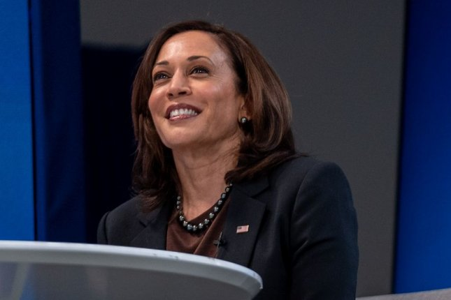 Vice President Kamala Harris will deliver special remarks during the Nickelodeon Kids' Choice Awards on Saturday. File Photo by Ken Cedeno/UPI