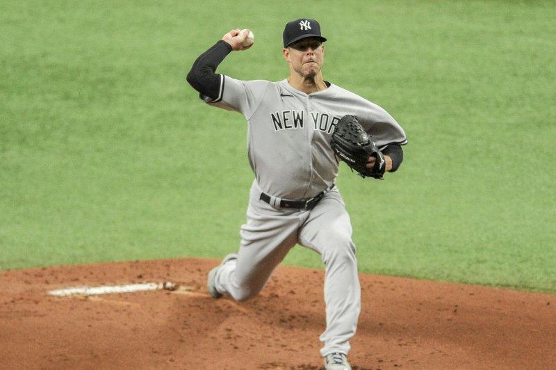 Yankees' Corey Kluber exits start vs. Blue Jays with shoulder tightness