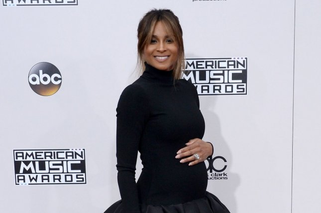 Ciara attends the American Music Awards on November 20, 2016. The singer is expecting with husband and NFL star Russell Wilson. File Photo by Jim Ruymen/UPI