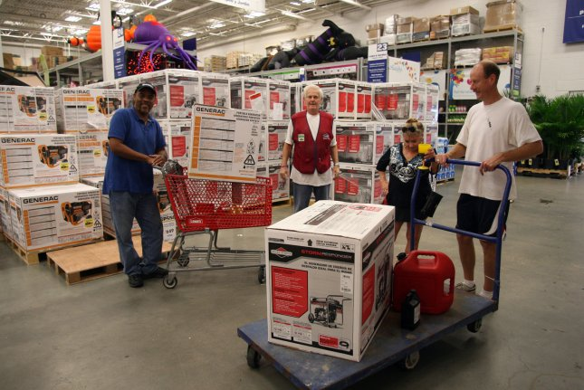 Lowe's Home Improvement stores sales increased this quarter over last year, but it announced that it's also moving forward with closing all 99 Orchard Supply Hardware stores in an effort to focus on its core home improvement business. File Photo by A.J. Sisco/UPI