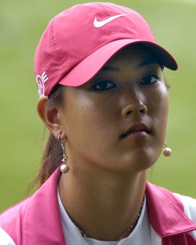 Michelle Wie on June 10, 2007 at Bulle Rock Golf Course in Havre de Grace, Maryland. (UPI Photo/Mark Goldman/FILES)