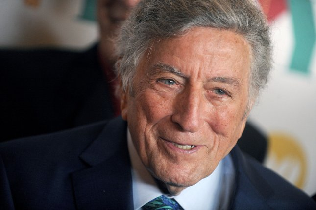 Tony Bennett attends his 90th birthday celebration on August 3, 2016. The Library of Congress will honor the singer with the Gershwin Prize for Popular Song in November. File Photo by Dennis Van Tine/UPI