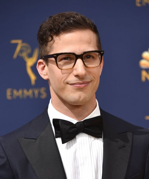 Actor Andy Samberg's sitcom Brooklyn Nine-Nine was renewed Thursday for a seventh season. File Photo by Christine Chew/UPI