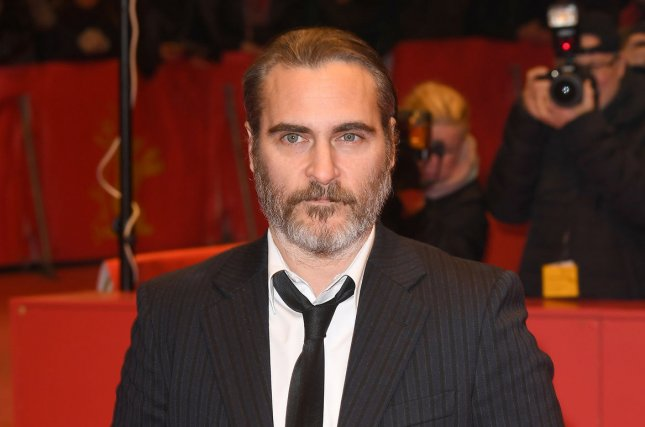 Joaquin Phoenix stars in the first trailer for DC's Joker. File Photo by Paul Treadway/ UPI