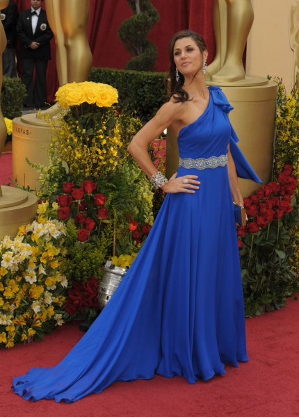 Samantha Harris arrives at the 81st Academy Awards in Hollywood on February 22, 2009. (UPI Photo/ Roger L. Wollenberg)